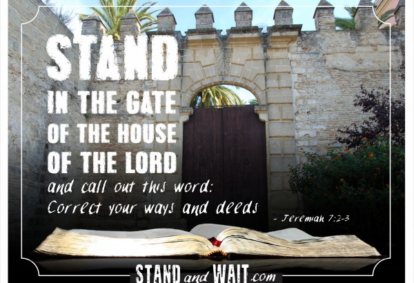 Revival must begin within. If the Christians can't repent and correct our ways and deeds, how will the world know what to do? As individuals, and as churches, we need to clean house. Resources, encouragement, and equipping: www.standandwait.com
